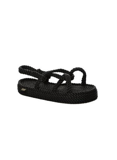 Nomadic Republic Sandalet Siyah